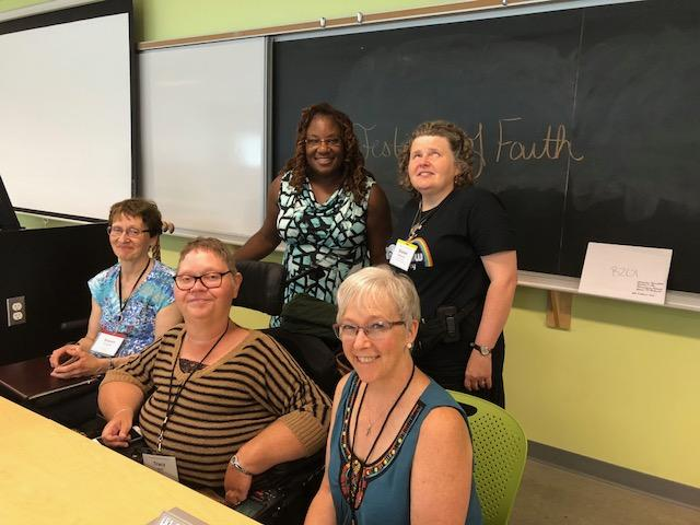 Photo of Disability and the Church workshop presenters